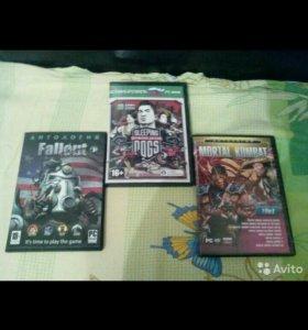 Игровые диски для ПК и Xbox 360