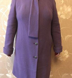 Пальто кашемировое 52 размер