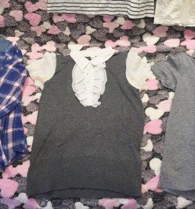 Футболки, рубашка , юбка, шорты