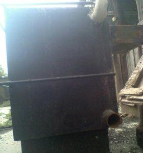 Напольный угольно-электрический котел
