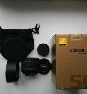 Nikon AF-S 50mm f1.4 G