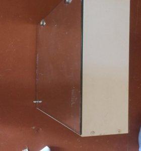 Навесной шкаф в ванну