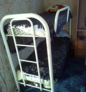Двухъярусная кровать разборная