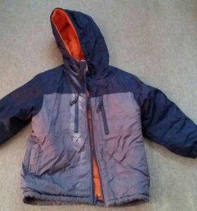 Куртка осенняя теплая