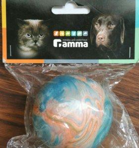 """Игрушка для собак """"Мяч литой каучуковый"""" 60мм"""