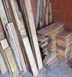 Деревянные обрезки