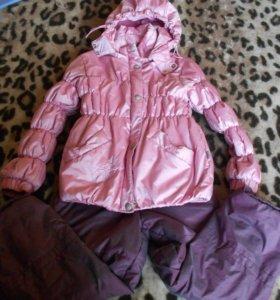 Куртка и полукомбинезон на весну рост 116