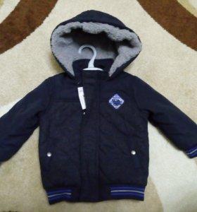 Куртка новая Matalan 1-2 года