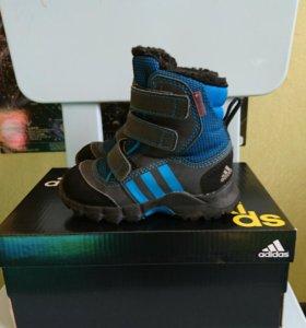 Зимние сапожки Adidas 21 размер