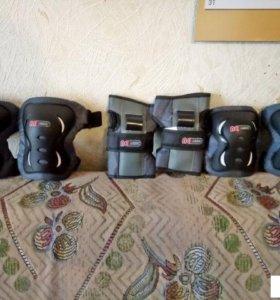 Комплект защиты для катания на роликах.Размер L