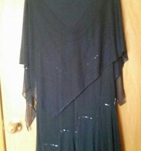 Вечернее платье длинное 46-48 размер