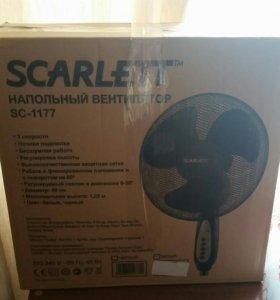 Напольный вентилятор (новый в упаковке )