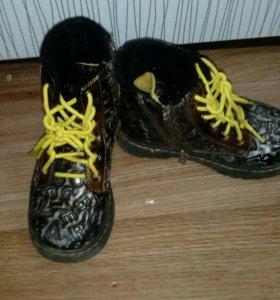 Ботинки 25 р-р демисезонные