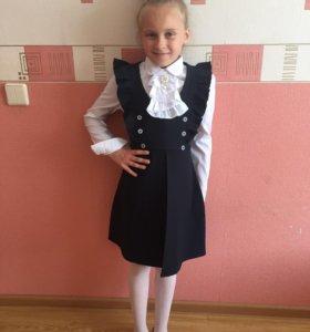Новое школьное платье