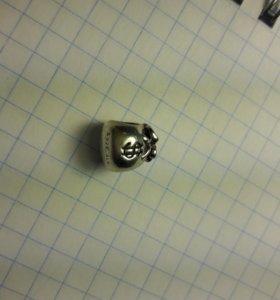 Шарм Пандора Pandora серебро 925