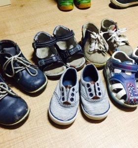 Обувь пакетом 5 пар: 21-22 р-р