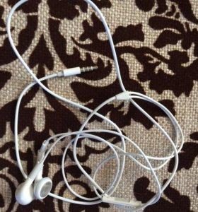 Оригинальные наушники от iPhone 4s