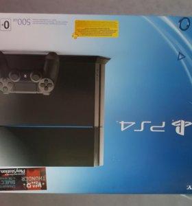 Игровая консоль PlayStation 4 (500 ГБ), черный