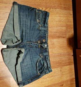Джинсовые шорты xs
