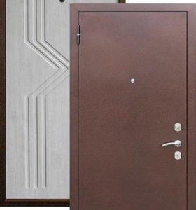 Метал. дверь VD-05 (седой дуб) (70мм)