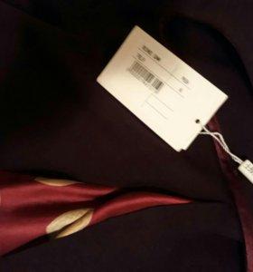 Новая юбка бордо Италия 48