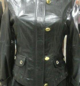 Куртка кожаная женская новая