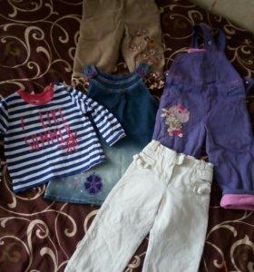 Вещи для девочки 80-92