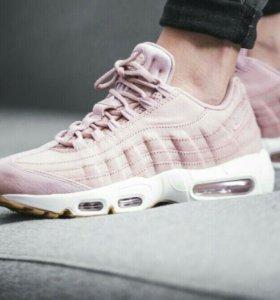 😎Кроссовки Nike Air Max 95 Pink