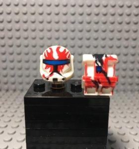 LEGO Star Wars clone RC, customs