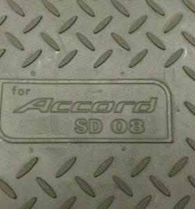 Коврик багажника для хонда аккорд 8