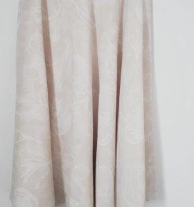 юбка на подкладе