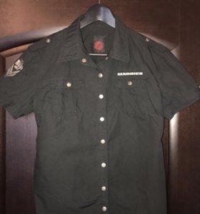 Рубашка Rammstein