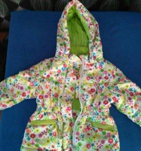 Весенне-осенняя куртка для девочки