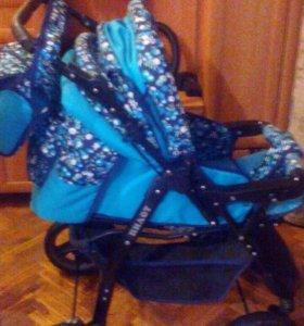 Детская коляска-трансформер Пилот
