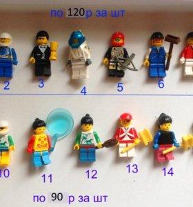 Лего фигурки с аксессуарами ОРИГИНАЛ