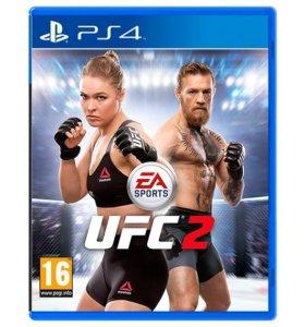 UFC 2 для PS4 новый в упаковке