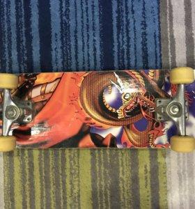 Продам скейтборд(почти новый)