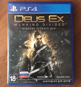 диск PS4 Deus Ex