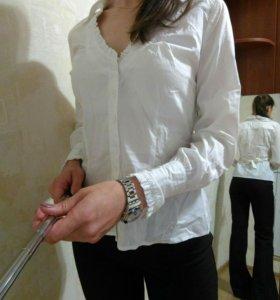 Белая блуза 42-44