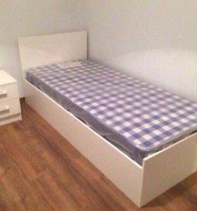 Кровать 90/200 с матрасом. Новая!