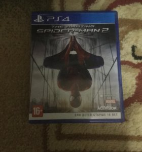 Игры THE AMAZING SPIDER-MAN 2 на PS4