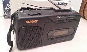 """Кассетный плеер с радио """"Sunny"""""""