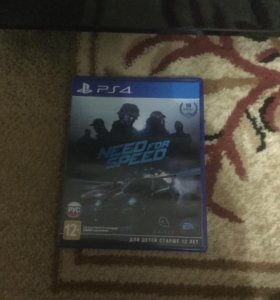 Игра NEED FOR SPEED на PS4