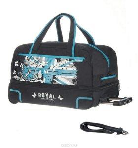 Новая дорожная сумка тележка чемодан на колесах