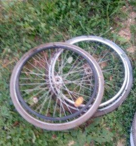 Колеса от инвалидной коляски