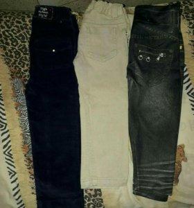 Джинсы.штаны для девочки