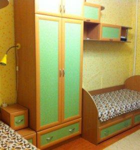 Мебель для детской комнаты для двоих.
