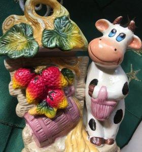 Фигурка декоративная Корова для кухни