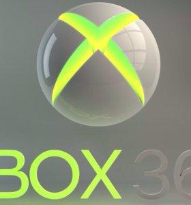 Xbox 360 500гб +kinect+10 игр