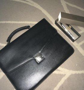 Кожаные портфели 💼 мужские